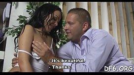 Lucky male enjoys ache...