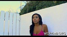 Gangsta bonks white girl...