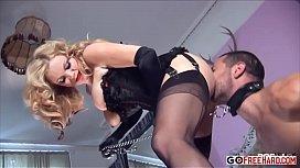 Alicia gets a proper anal workout  Alicia Rhodes Gem Sparkle Gem Sparkle Jay R