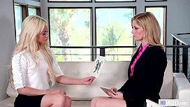 Lesbian Job Interview - Charlotte...