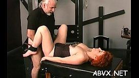 Bbw chick severe stimulation in complete bondage scenes