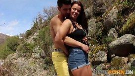 Dirty couple Estefania and...