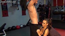 Sandee Westgate Gym Sex...