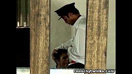 Teen Boy Gets Caught...