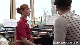 The music teacher as...