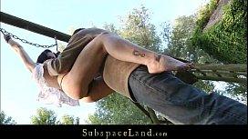 Skinny sex slave exploited...
