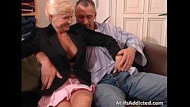 Two slutty MILF blondes...