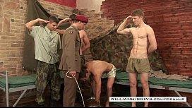 Military wank 1...