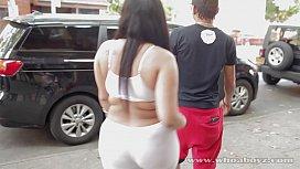 young big booty ebony slut getting f ...