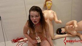 Innocent teen gets brutal...