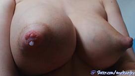 Full milky tits autodrip sweet milk