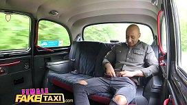 Female Fake Taxi Big...
