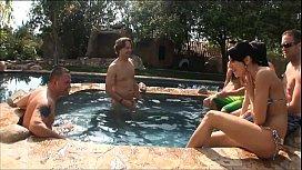 PornPros Pool Party Orgy...