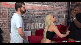 A BBC For HotWife Brooke Summers While Cuckold Watching
