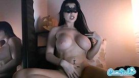 Romi Rain big tits big ass mastrubating until incredible orgasm.