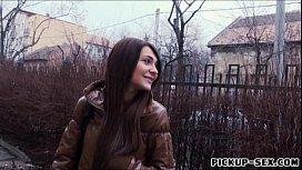 Petite amateur Czech girl...