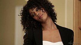 Ebony Ana Foxxx Helps...
