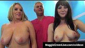 Curvy Lady Maggie Green...