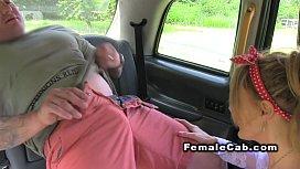 Huge tits cab driver...