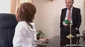 Asian slut getting fucked by her boss politely juggs joy