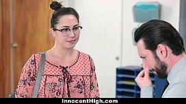 InnocentHigh - SchoolGirl Pretends Fucks...