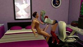 http://HarleyQuinnNude.com Harley Quinn Sims 4 video game sex