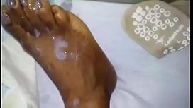 Cum Shower On Sleeping Beauty&#039_s Feet