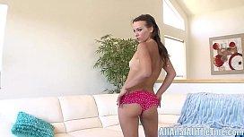 Russian teen Gets Ass...