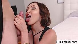 Auntie Yasmin Scott seducing...