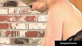 Blonde Babe Sunny Lane...