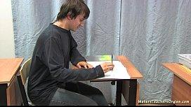 Russian mature teacher 2 - Nadezhda  ...