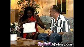 Big ass African footjobs...