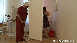 Doctor spying on teen...