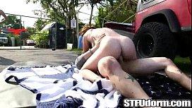 College Orgy Car Wash...