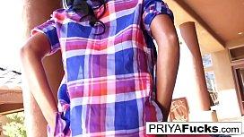 Priya Rai vibrates her...