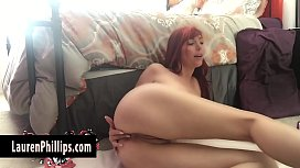 Slutty Redhead Lauren Phillips...