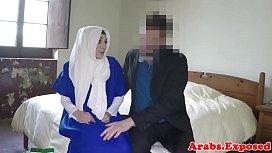 Arabian beauty fucked and...