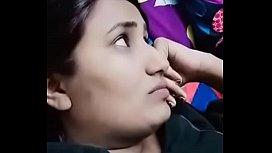 Swathi naidu liplock and enjoying with boyfriend on bed