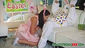 Easter Bunny Fucks Horny...