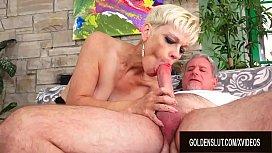 Smoking Hot Blonde Mature...