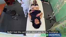 FakeHospital No health insurance...