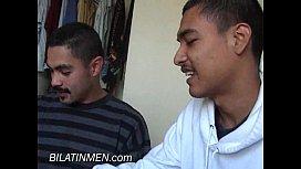 Hot Gay Latino Pissing...