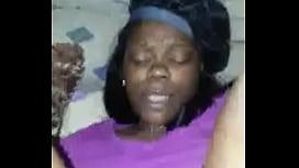 Ebony milf in the mood