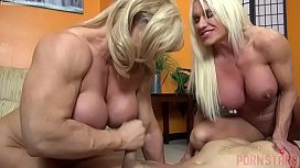 Naked Female Bodybuilders Sex Up Lucky Dude dani daniel