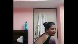 Busty pooja bhabhi seductive...