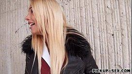 Busty blonde Eurobabe Kyra...