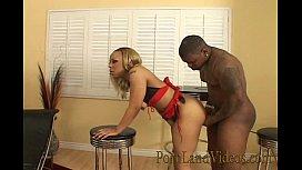 Horny ebony girl riding...
