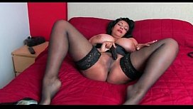 Danica collins stockings vibrator...