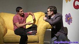 Orgy loving gay hunk...