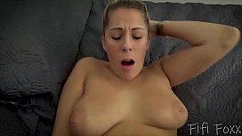 Mom &amp_ Son Cuddle Naked to Stay Warm - MILF, POV, Older Woman, Virtual Sex - Nikki Brooks